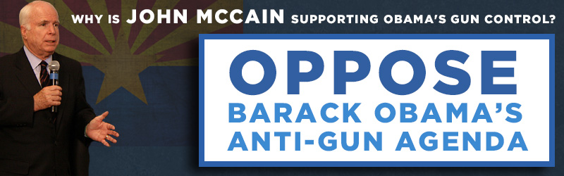 National Association for Gun Rights - Federal Targets - McCain Flake