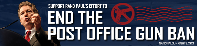 Banner - End the Post Office Gun Ban